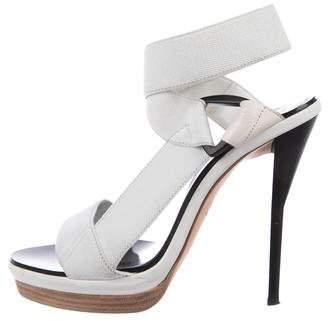 3.1 Phillip Lim Wrap-Around Platform Sandals