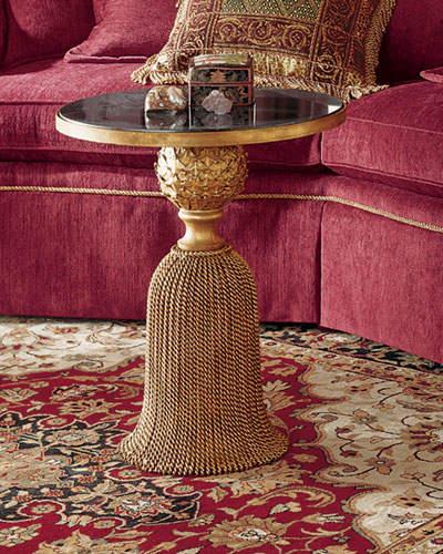 Kay Granite Tassel Table