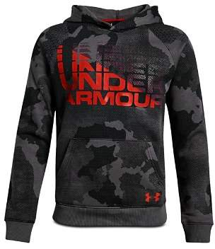 Under Armour Boys' Camo-Print Fleece Hoodie - Big Kid