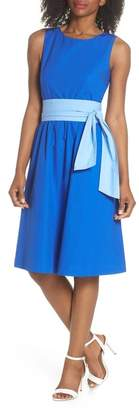 J.Crew J. Crew Sash Tie A-Line Dress