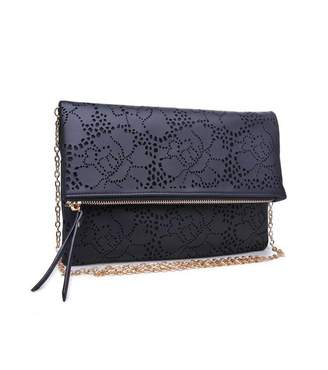 Urban Expressions Perforated Clutch