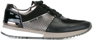Michael Michael Kors panelled sneakers $168.43 thestylecure.com
