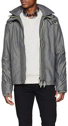 Superdry Men's TECH Hood POP Zip Windcheater Sports Jacket,(Manufacturer Size: )
