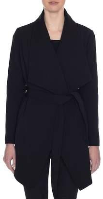 Tahari Abbey Wrap Coat (Petite)