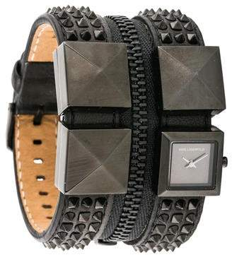 Karl Lagerfeld by Zipper Watch