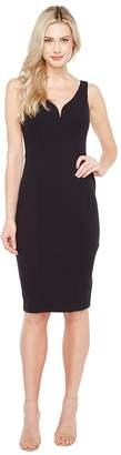 Donna Morgan Sleeveless Stretch Crepe Bodycon Dress Women's Dress