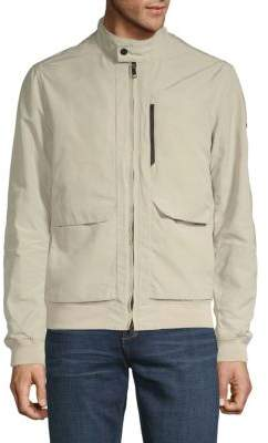 J. Lindeberg Full-Zip Stand Collar Jacket