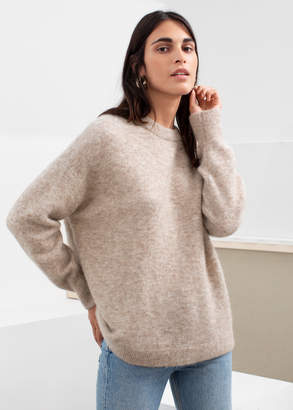 And other stories Alpaca Blend Relaxed Sweater
