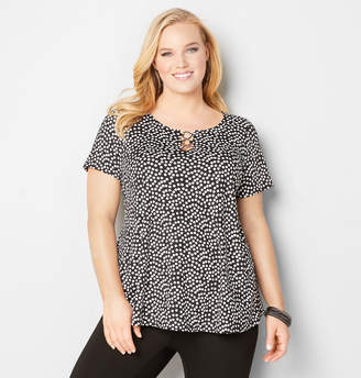 Avenue 3-Ring Tossed Dot Swing Top