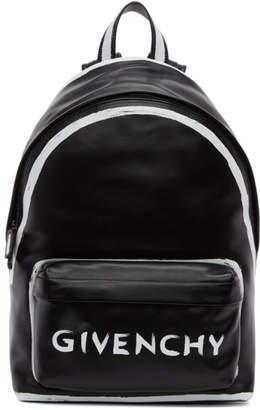 Givenchy Black Small Graffiti Backpack