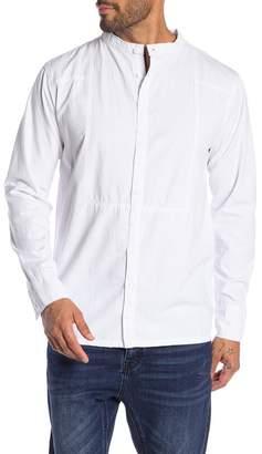 One Teaspoon Disstressed Tuxedo Long Sleeve Shirt