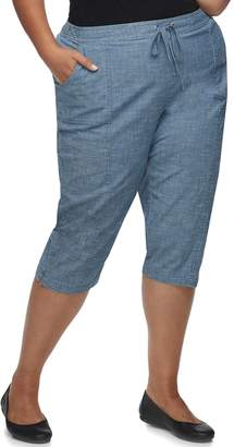 Croft & Barrow Plus Size Capris