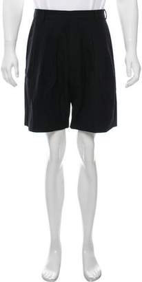 Givenchy Wool Pleated Shorts