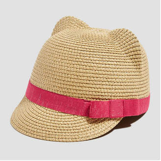 Joe Fresh Toddler Girls' Cat Ear Straw Fedora