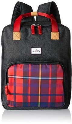 Tommy Hilfiger Unisex Preppy Backpack Square, Boys' Backpack, Blau (Denim Red Check), (B x H T)