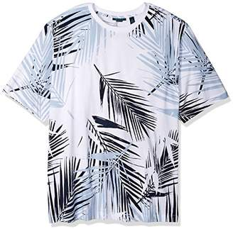 Perry Ellis Men's Big and Tall Abstract Print Tee Shirt