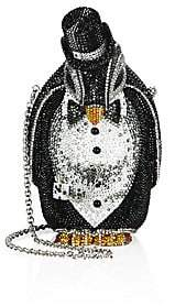 Judith Leiber Couture Women's Alfred Crystal Penguin Minaudiere