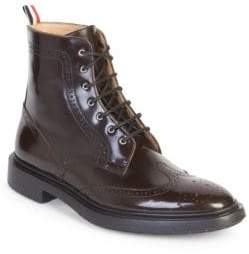 Thom Browne Classic Wingtip Brogue Boot