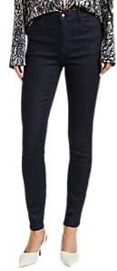 Women's Maria High-Rise Skinny Jeans - Black