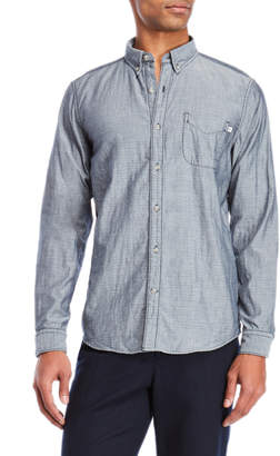 Timberland Double-Layer Button-Down Shirt