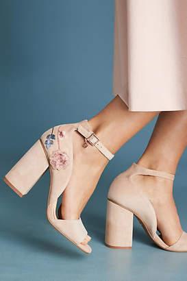 Nanette Lepore Martina Embroidered Heels