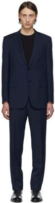 Brioni Navy Burnico Suit