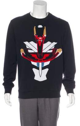 Givenchy Warrior Patch Sweatshirt