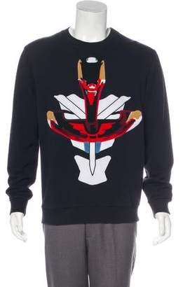 Givenchy Warrior Patch Sweatshirt