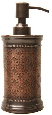 Allure Home Creation Bronze Floral Lotion Pump