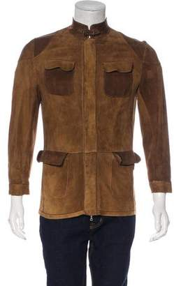 Preview Milano Two-Tone Suede Jacket