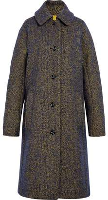 MACKINTOSH Blue & Yellow Wool & Silk Blend Coat LM-079F