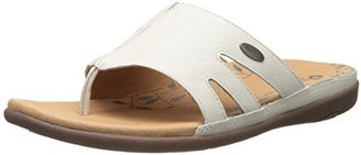ACORN Women's Prima Cutaway Thong Sandal $90 thestylecure.com