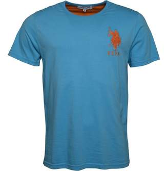 U.S. Polo Assn. Mens Jackson T-Shirt Ethereal Blue