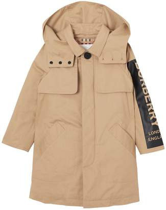 Burberry Quilted Cotton Gabardine Trench Coat