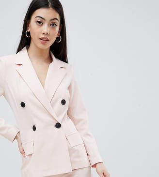 Missguided Petite Double Breasted Blazer
