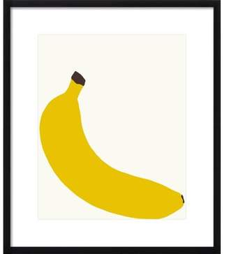 Hurley Artfully Walls 'Banana' by Jorey Framed Graphic Art