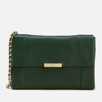Ted Baker Women's Clarria Bow Detail Soft Cross Body Bag - Dark Green