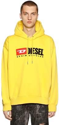 Diesel 90's Logo Embroidered Sweatshirt Hoodie