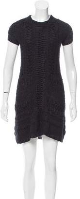 Theyskens' Theory Kei Open Knit Dress