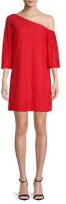 Laundry by Shelli Segal Asymmetrical Shift Dress