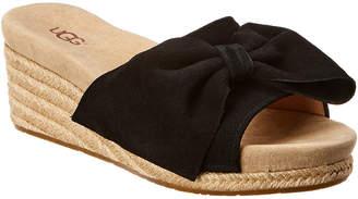 UGG Jancee Suede Wedge Sandal