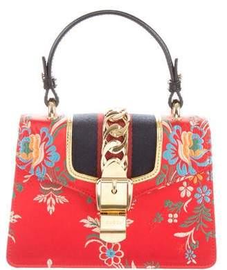 Gucci 2018 Sylvie Mini Jacquard Bag