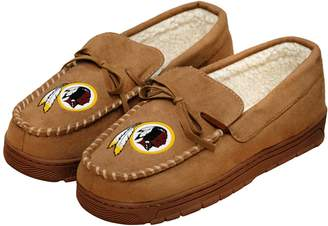 Redskins Men's Forever Collectibles Washington Moccasin Slippers