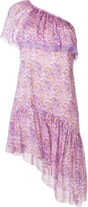 Blumarine asymmetric floral dress