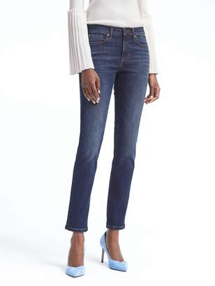 Banana Republic Sculpt Medium Wash Slim-Straight Jean