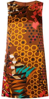 M Missoni geometric print dress