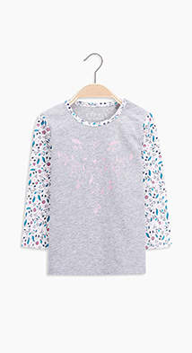Esprit Long sleeve printed Tee