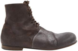 Marsèll Brown Leather Boots