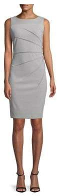 Calvin Klein Starburst Sleeveless Sheath Dress