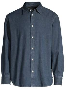Rag & Bone Fit 3 Denim Button-Down Shirt